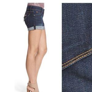 "Hudson Jeans ""Croxley"" Cuffed Denim Shorts - 30"